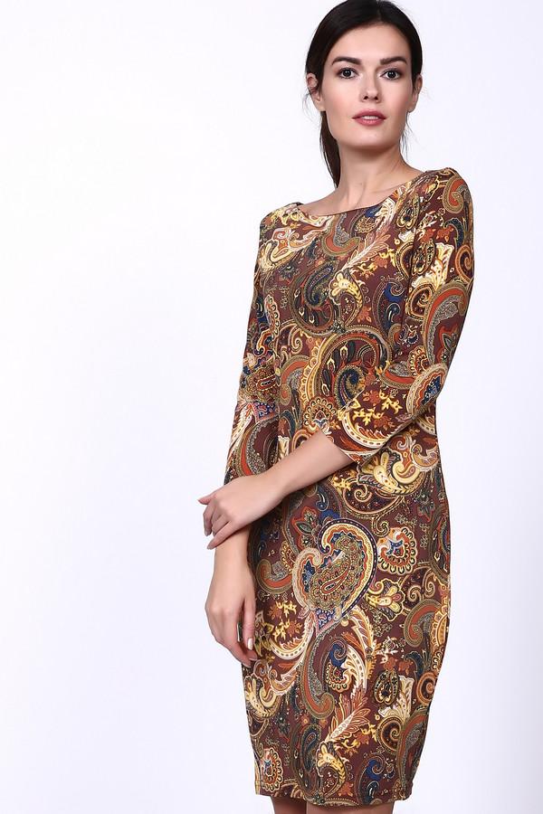 Платье Just ValeriПлатья<br><br><br>Размер RU: 42<br>Пол: Женский<br>Возраст: Взрослый<br>Материал: эластан 8%, полиэстер 92%<br>Цвет: Разноцветный