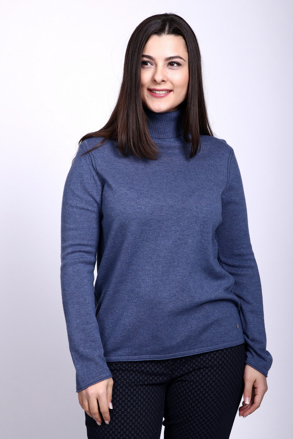 Пуловер Gerry WeberПуловеры<br><br><br>Размер RU: 50<br>Пол: Женский<br>Возраст: Взрослый<br>Материал: кашемир 30%, мохер 70%<br>Цвет: Синий