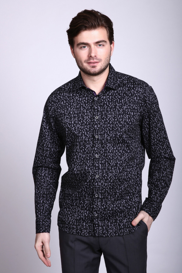 Купить Рубашка с длинным рукавом Olymp, Индонезия, Разноцветный, хлопок 100%