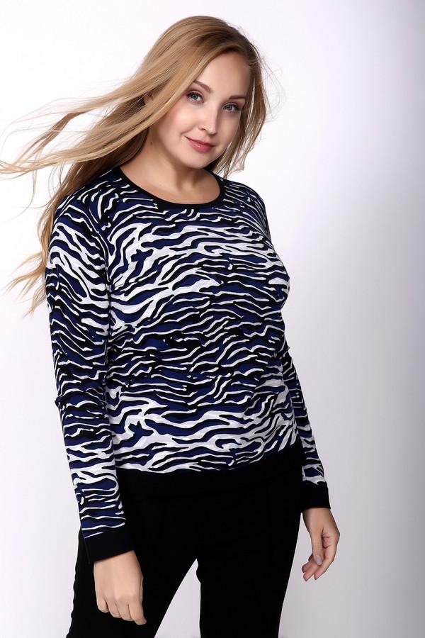 Пуловер Gerry WeberПуловеры<br><br><br>Размер RU: 46<br>Пол: Женский<br>Возраст: Взрослый<br>Материал: эластан 3%, полиамид 22%, хлопок 75%<br>Цвет: Разноцветный
