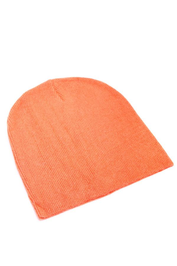 Шапка PezzoШапки<br><br><br>Размер RU: один размер<br>Пол: Женский<br>Возраст: Взрослый<br>Материал: полиамид 50%, ангора 10%, вискоза 40%<br>Цвет: Оранжевый