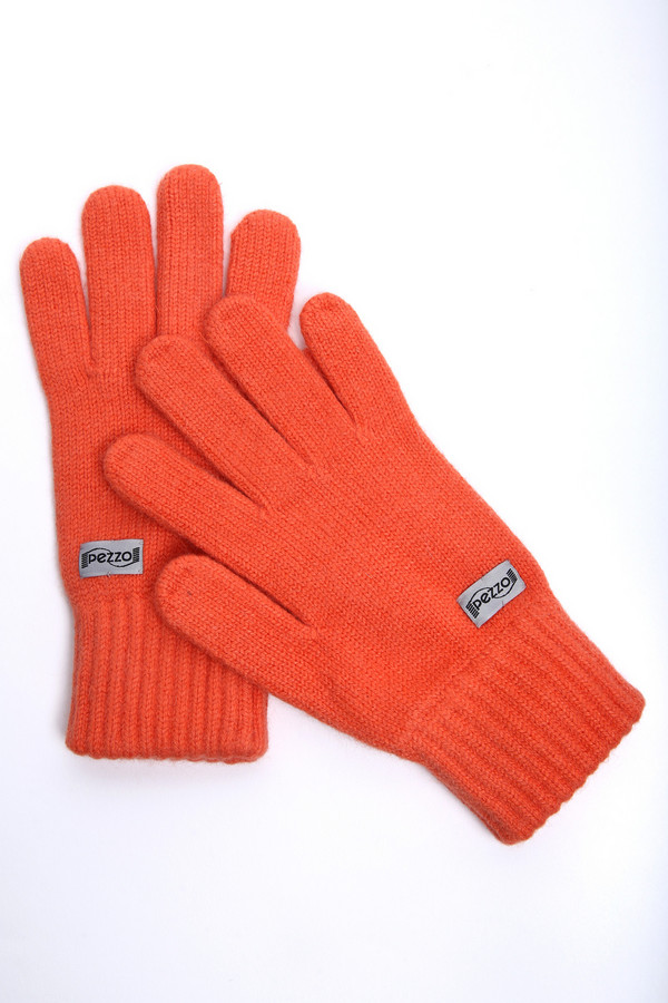 Перчатки PezzoПерчатки<br><br><br>Размер RU: один размер<br>Пол: Женский<br>Возраст: Взрослый<br>Материал: полиамид 50%, ангора 10%, вискоза 40%<br>Цвет: Оранжевый