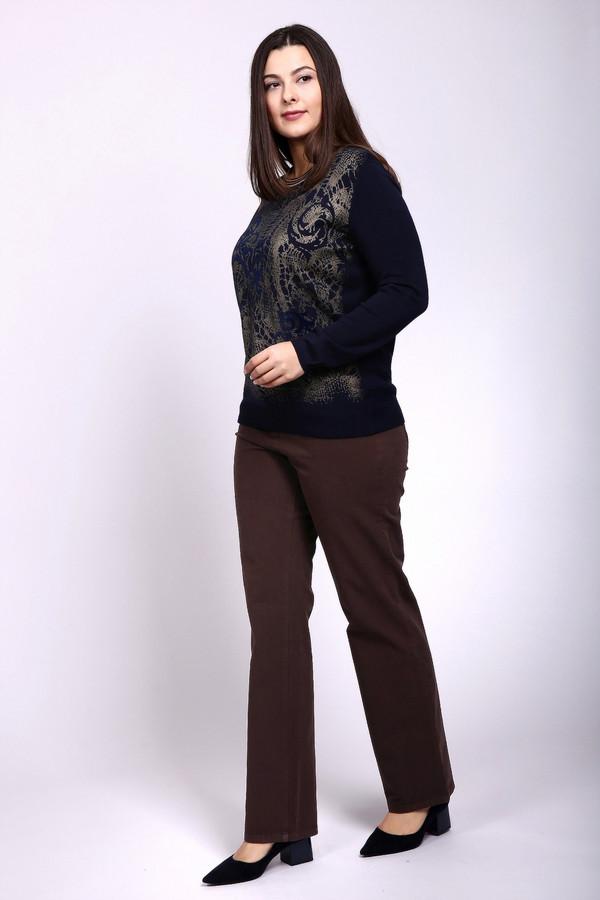Джинсы BaslerДжинсы<br>Прямые джинсы от бренда Basler выполнены в благородном шоколадном оттенке. Изделие дополнено шлевками для ремня, застежкой молния с пуговицей и четырьмя классическими карманами. Прекрасный базовый элемент гардероба, совершенно универсальный для сочетания как с классическим стилем, так и с кэжуал.<br><br>Размер RU: 50<br>Пол: Женский<br>Возраст: Взрослый<br>Материал: вискоза 20%, эластан 7%, полиэстер 7%, хлопок 66%<br>Цвет: Коричневый