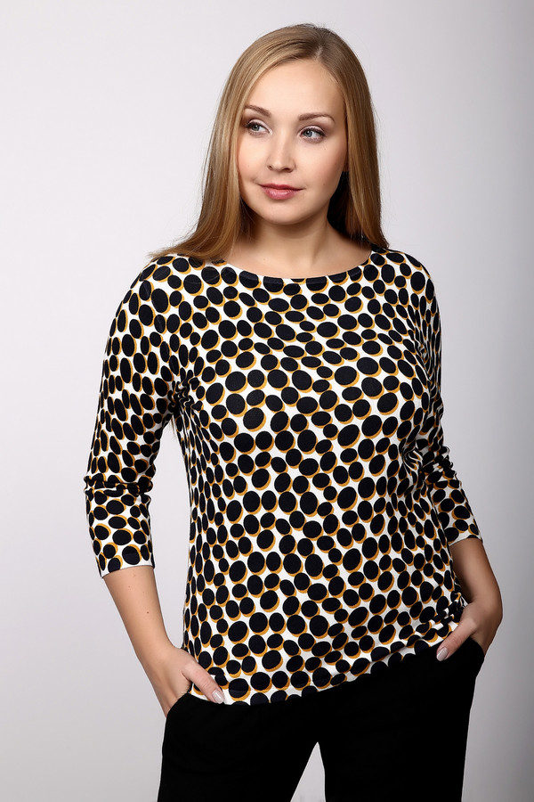 Пуловер Betty BarclayПуловеры<br><br><br>Размер RU: 54<br>Пол: Женский<br>Возраст: Взрослый<br>Материал: вискоза 82%, полиэстер 18%<br>Цвет: Разноцветный