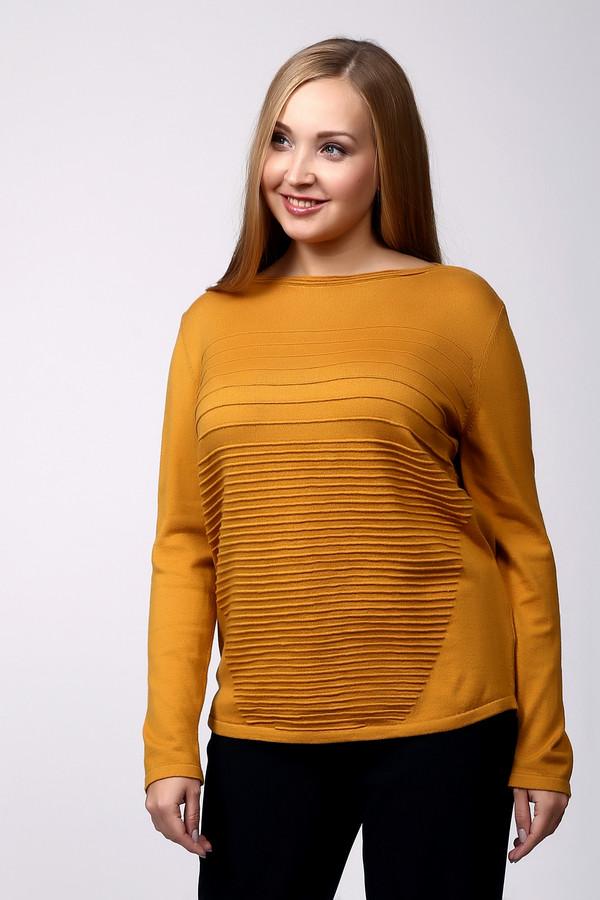 Пуловер Betty BarclayПуловеры<br><br><br>Размер RU: 48<br>Пол: Женский<br>Возраст: Взрослый<br>Материал: хлопок 50%, полиакрил 50%<br>Цвет: Жёлтый