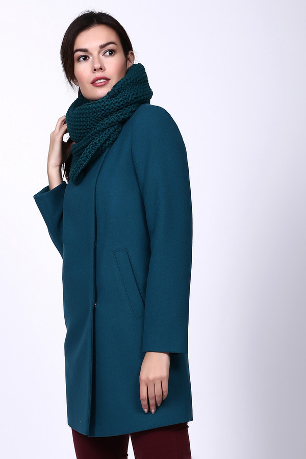 Пальто AVALONПальто<br><br><br>Размер RU: 48<br>Пол: Женский<br>Возраст: Взрослый<br>Материал: вискоза 10%, шерсть 75%, полиэстер 15%<br>Цвет: Зелёный