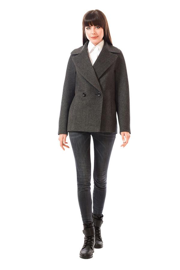 Пальто AVALONПальто<br><br><br>Размер RU: 46<br>Пол: Женский<br>Возраст: Взрослый<br>Материал: вискоза 10%, шерсть 70%, полиэстер 15%<br>Цвет: Серый