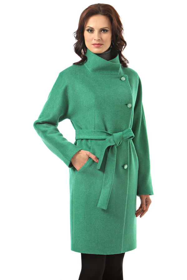 Пальто AVALONПальто<br><br><br>Размер RU: 50<br>Пол: Женский<br>Возраст: Взрослый<br>Материал: вискоза 7%, шерсть 78%, полиэстер 15%<br>Цвет: Зелёный
