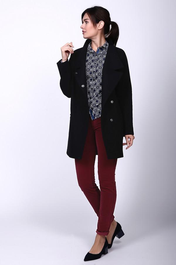 Пальто AVALONПальто<br><br><br>Размер RU: 44<br>Пол: Женский<br>Возраст: Взрослый<br>Материал: вискоза 10%, шерсть 75%, полиэстер 15%<br>Цвет: Чёрный