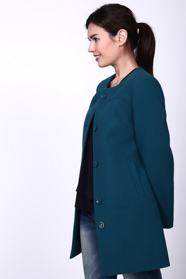 Пальто AVALONПальто<br><br><br>Размер RU: 40<br>Пол: Женский<br>Возраст: Взрослый<br>Материал: вискоза 10%, шерсть 75%, полиэстер 15%<br>Цвет: Зелёный