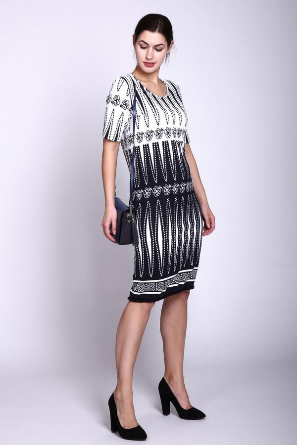 Купить Платье Eugen Klein, Польша, Разноцветный, эластан 2%, полиамид 15%, вискоза 83%