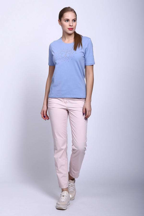 Капри GardeurКапри<br>Капри розового цвета фирмы Gardeur. Ткань состоит из 2% эластана и 98% хлопка. Модель выполнена прямым покроем. Капри дополнены пришивным поясом со шлевками для ремня, застежка молния на пуговицу, боковыми карманами, задними кокетками и накладными карманами. Такая модель очень элегантна и стильна. Розовый цвет объединит весь ваш наряд, а в сочетании с блузами разнообразного кроя создаст трендовый комплект.