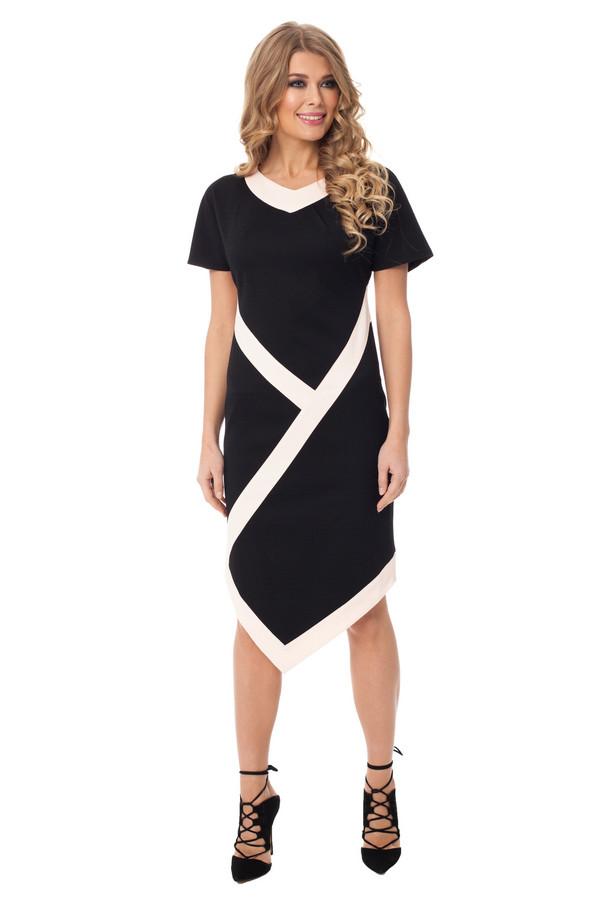 Платье GlossПлатья<br><br><br>Размер RU: 42<br>Пол: Женский<br>Возраст: Взрослый<br>Материал: хлопок 60%, полиэстер 40%<br>Цвет: Чёрный