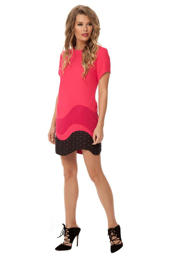 Платье GlossПлатья<br><br><br>Размер RU: 46<br>Пол: Женский<br>Возраст: Взрослый<br>Материал: вискоза 20%, полиэстер 80%<br>Цвет: Разноцветный