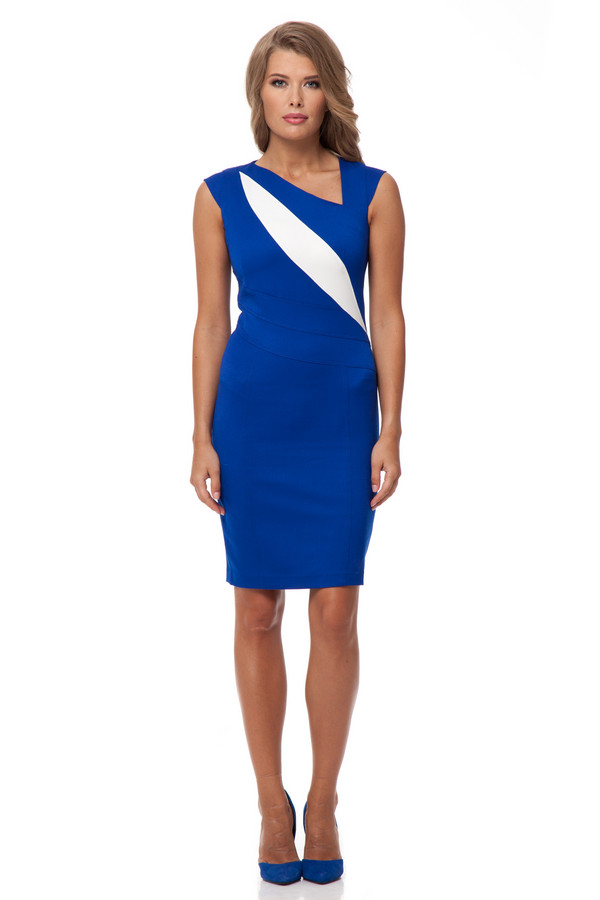 Платье GlossПлатья<br><br><br>Размер RU: 42<br>Пол: Женский<br>Возраст: Взрослый<br>Материал: эластан 5%, полиэстер 43%, вискоза 52%<br>Цвет: Разноцветный