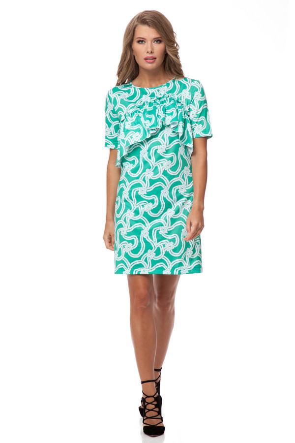 Платье GlossПлатья<br><br><br>Размер RU: 42<br>Пол: Женский<br>Возраст: Взрослый<br>Материал: вискоза 15%, полиэстер 85%<br>Цвет: Разноцветный
