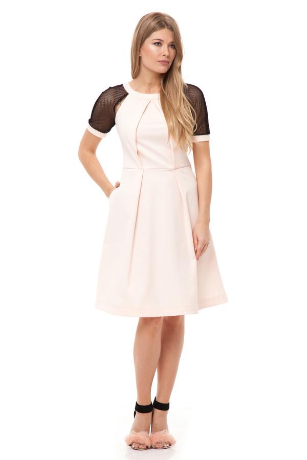 Платье GlossПлатья<br><br><br>Размер RU: 42<br>Пол: Женский<br>Возраст: Взрослый<br>Материал: полиэстер 50%, хлопок 50%<br>Цвет: Разноцветный
