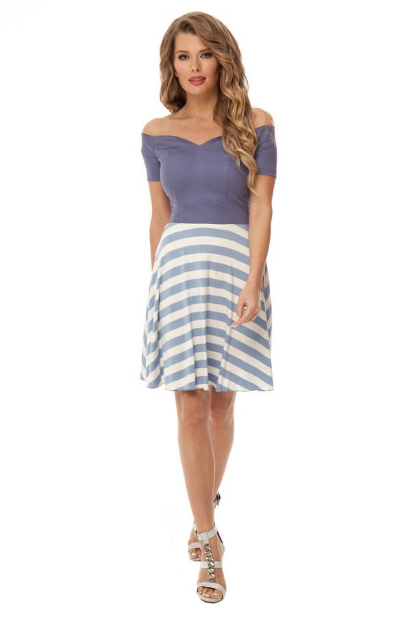 Платье GlossПлатья<br><br><br>Размер RU: 42<br>Пол: Женский<br>Возраст: Взрослый<br>Материал: эластан 5%, полиэстер 48%, вискоза 47%<br>Цвет: Разноцветный