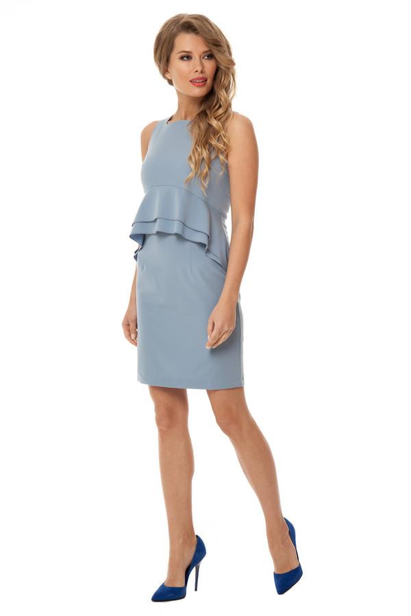 Платье GlossПлатья<br><br><br>Размер RU: 42<br>Пол: Женский<br>Возраст: Взрослый<br>Материал: эластан 5%, вискоза 26%, полиэстер 69%<br>Цвет: Серый