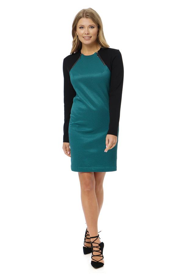 Платье GlossПлатья<br><br><br>Размер RU: 42<br>Пол: Женский<br>Возраст: Взрослый<br>Материал: эластан 7%, вискоза 25%, полиэстер 68%<br>Цвет: Разноцветный