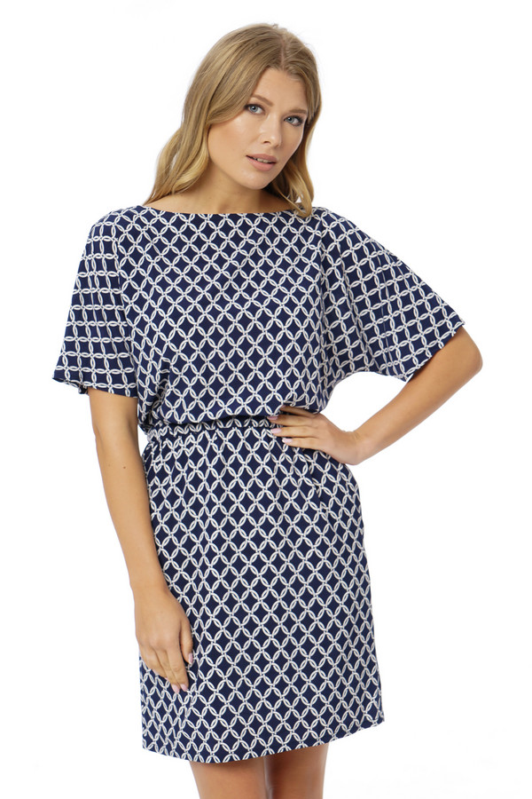 Платье GlossПлатья<br><br><br>Размер RU: 48<br>Пол: Женский<br>Возраст: Взрослый<br>Материал: вискоза 100%<br>Цвет: Синий