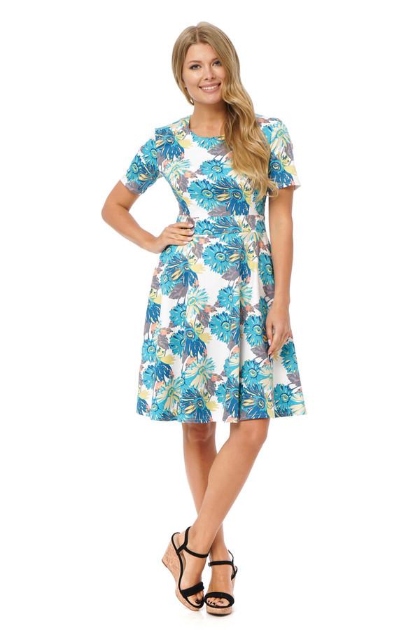 Платье GlossПлатья<br><br><br>Размер RU: 42<br>Пол: Женский<br>Возраст: Взрослый<br>Материал: эластан 3%, хлопок 97%<br>Цвет: Разноцветный