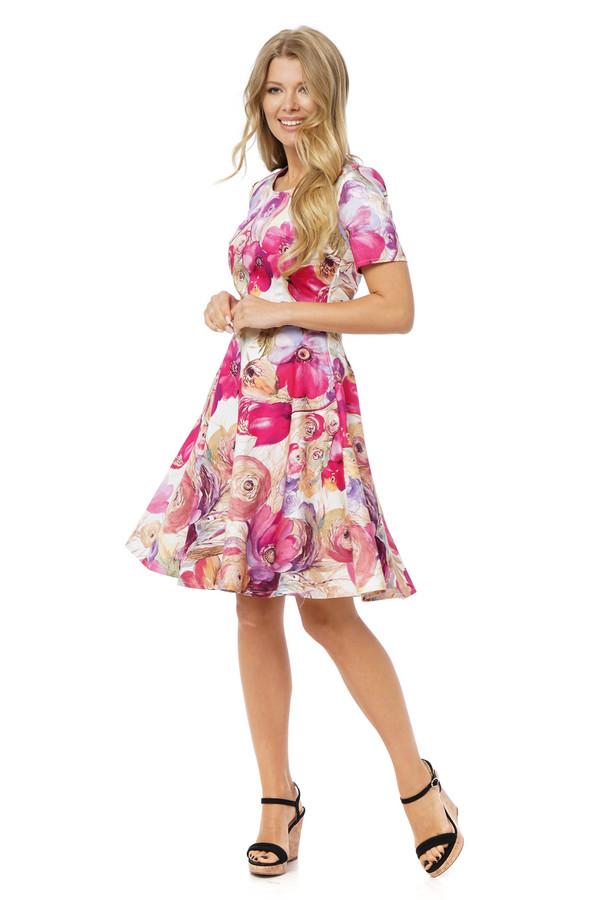 Платье GlossПлатья<br><br><br>Размер RU: 44<br>Пол: Женский<br>Возраст: Взрослый<br>Материал: эластан 3%, хлопок 97%<br>Цвет: Розовый