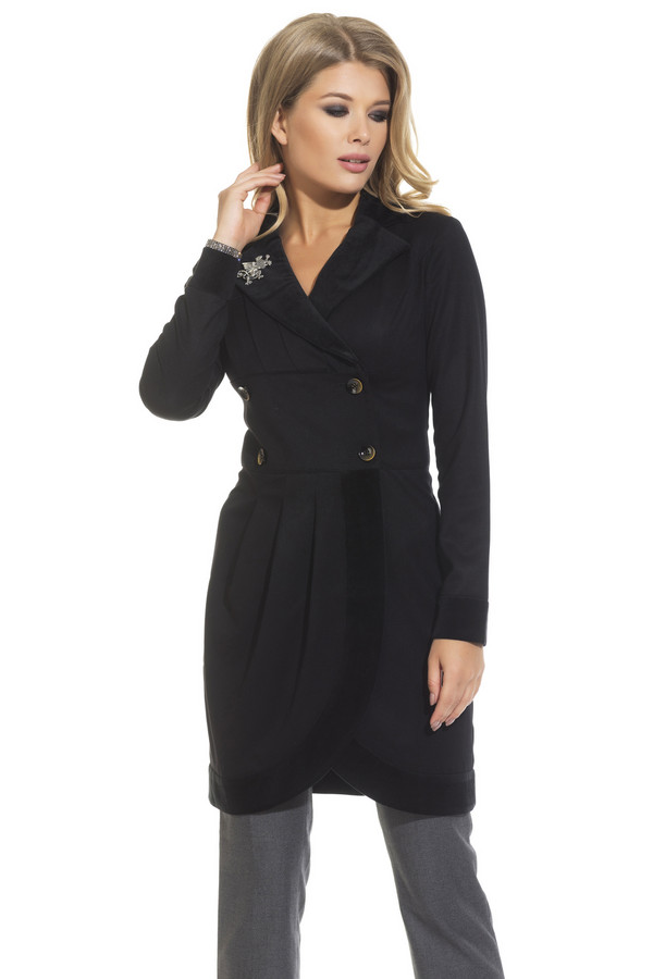 Платье GlossПлатья<br><br><br>Размер RU: 42<br>Пол: Женский<br>Возраст: Взрослый<br>Материал: эластан 5%, полиэстер 43%, вискоза 52%<br>Цвет: Чёрный