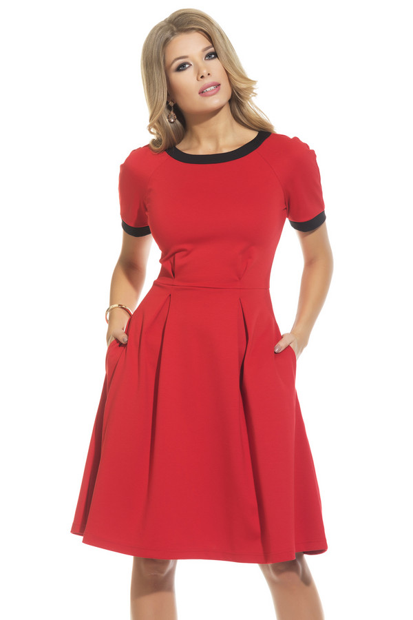 Платье GlossПлатья<br><br><br>Размер RU: 42<br>Пол: Женский<br>Возраст: Взрослый<br>Материал: эластан 5%, вискоза 70%, полиэстер 25%<br>Цвет: Красный