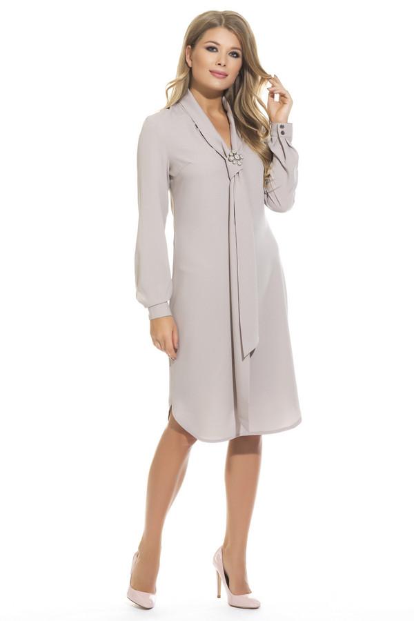 Платье GlossПлатья<br><br><br>Размер RU: 48<br>Пол: Женский<br>Возраст: Взрослый<br>Материал: вискоза 20%, полиэстер 80%<br>Цвет: Бежевый