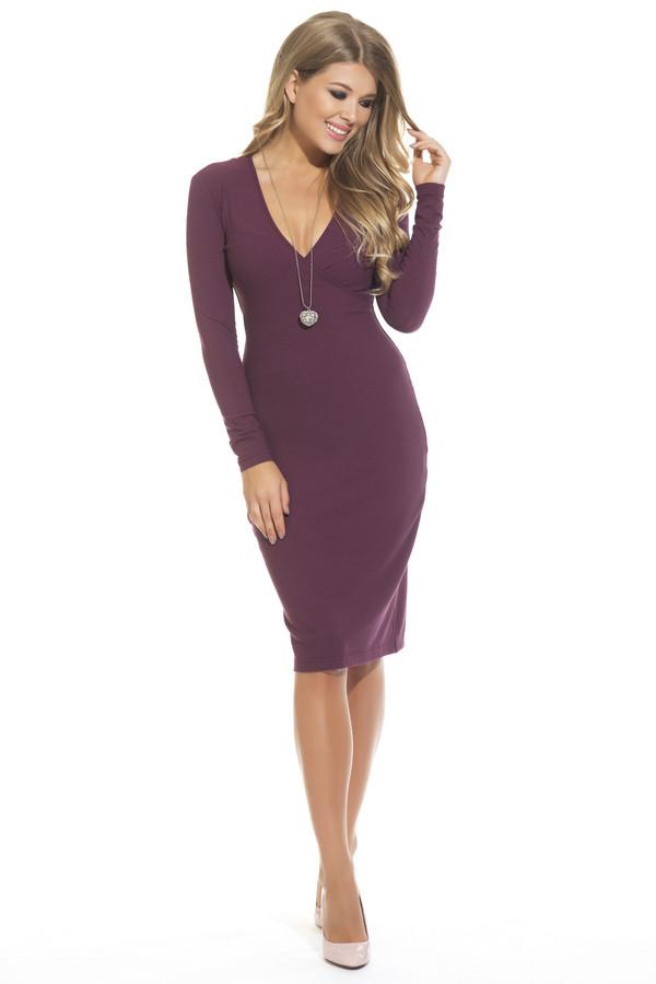 Платье GlossПлатья<br><br><br>Размер RU: 42<br>Пол: Женский<br>Возраст: Взрослый<br>Материал: эластан 5%, вискоза 95%<br>Цвет: Бордовый