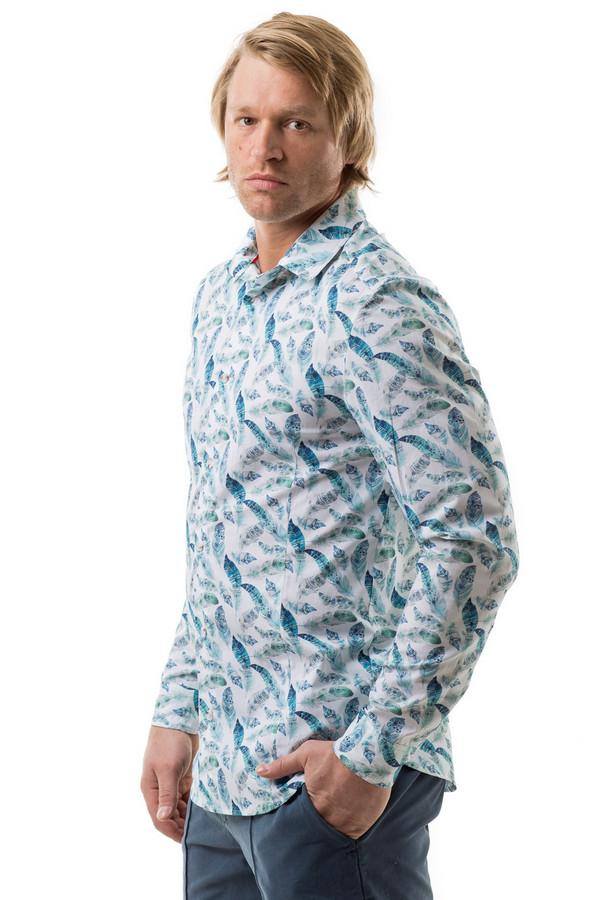 Рубашка с длинным рукавом RPSДлинный рукав<br><br><br>Размер RU: 52<br>Пол: Мужской<br>Возраст: Взрослый<br>Материал: хлопок 100%<br>Цвет: Разноцветный