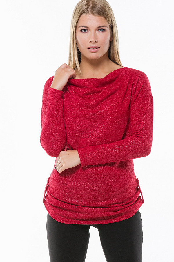 Джемпер RemixДжемперы<br><br><br>Размер RU: 42<br>Пол: Женский<br>Возраст: Взрослый<br>Материал: эластан 3%, вискоза 37%, акрил 60%<br>Цвет: Красный