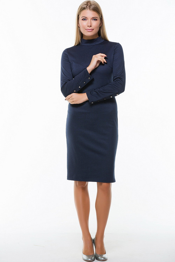 Платье RemixПлатья<br><br><br>Размер RU: 52<br>Пол: Женский<br>Возраст: Взрослый<br>Материал: эластан 5%, полиэстер 60%, вискоза 35%<br>Цвет: Синий