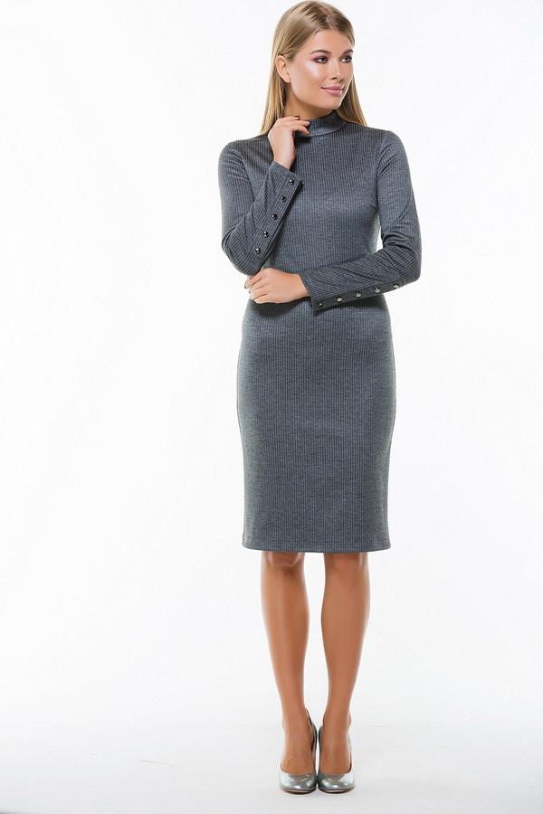 Платье RemixПлатья<br><br><br>Размер RU: 48<br>Пол: Женский<br>Возраст: Взрослый<br>Материал: эластан 5%, полиэстер 60%, вискоза 35%<br>Цвет: Серый