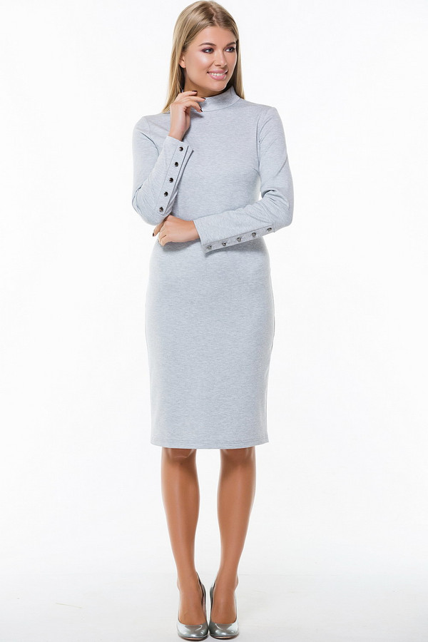 Платье RemixПлатья<br><br><br>Размер RU: 52<br>Пол: Женский<br>Возраст: Взрослый<br>Материал: эластан 5%, полиэстер 60%, вискоза 35%<br>Цвет: Серый