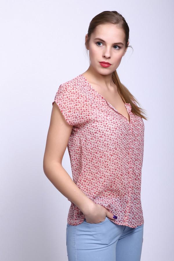 Блузa TaifunБлузы<br>Блуза фирмы Taifun розового цвета с мелкими цветочками . Модель дополнена круглым воротником с небольшим разрезом .Рукав цельнокроеный короткий - реглан. Длина блузки средняя до бедер. Модель очень изящна и практична.<br><br>Размер RU: 44<br>Пол: Женский<br>Возраст: Взрослый<br>Материал: полиэстер 100%<br>Цвет: Розовый