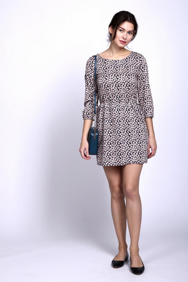 Купить Платье Tom Tailor, Индия, Разноцветный, хлопок 100%, Состав_подкладка полиэстер 100%