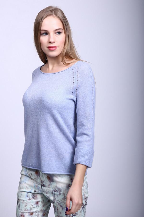 Пуловер CommaПуловеры<br><br><br>Размер RU: 44<br>Пол: Женский<br>Возраст: Взрослый<br>Материал: шерсть 88%, кашемир 12%<br>Цвет: Сиреневый