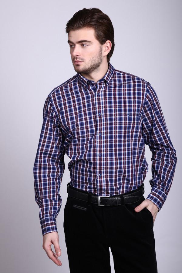 Рубашка с длинным рукавом Casa ModaДлинный рукав<br><br><br>Размер RU: 39-40<br>Пол: Мужской<br>Возраст: Взрослый<br>Материал: хлопок 100%<br>Цвет: Разноцветный