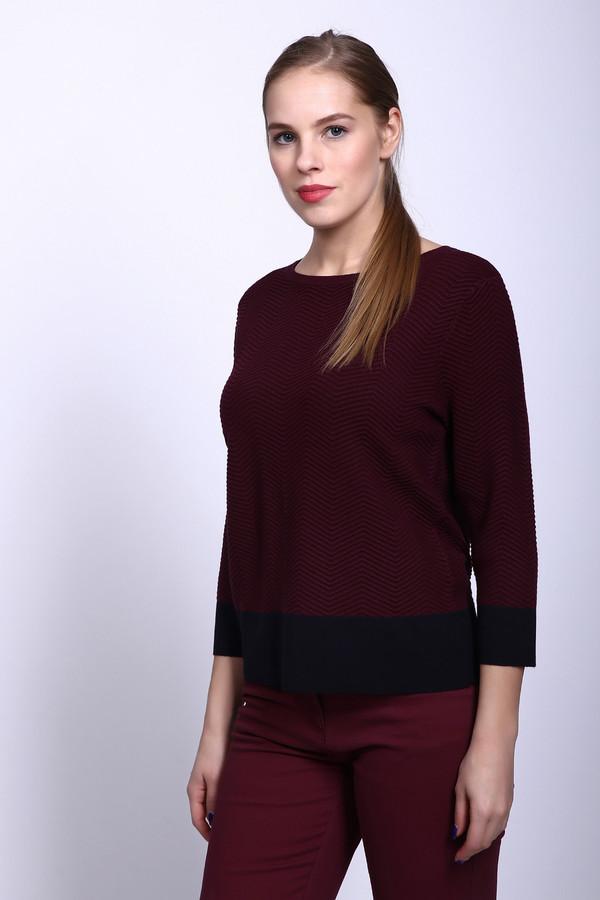 Пуловер Gerry WeberПуловеры<br><br><br>Размер RU: 52<br>Пол: Женский<br>Возраст: Взрослый<br>Материал: вискоза 77%, полиэстер 23%<br>Цвет: Бордовый