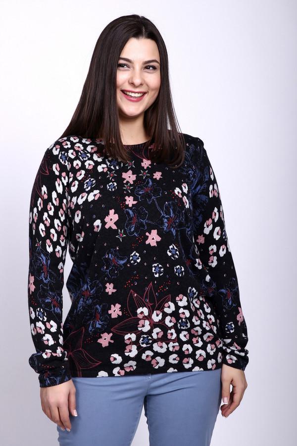 Пуловер Gerry WeberПуловеры<br><br><br>Размер RU: 48<br>Пол: Женский<br>Возраст: Взрослый<br>Материал: кашемир 5%, хлопок 40%, шерсть 15%, вискоза 40%<br>Цвет: Разноцветный