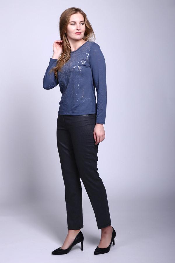 женские зауженные брюки gerry weber, серые