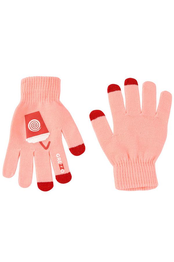 Перчатки GrezzoПерчатки<br><br><br>Размер RU: один размер<br>Пол: Женский<br>Возраст: Взрослый<br>Материал: акрил 100%<br>Цвет: Розовый