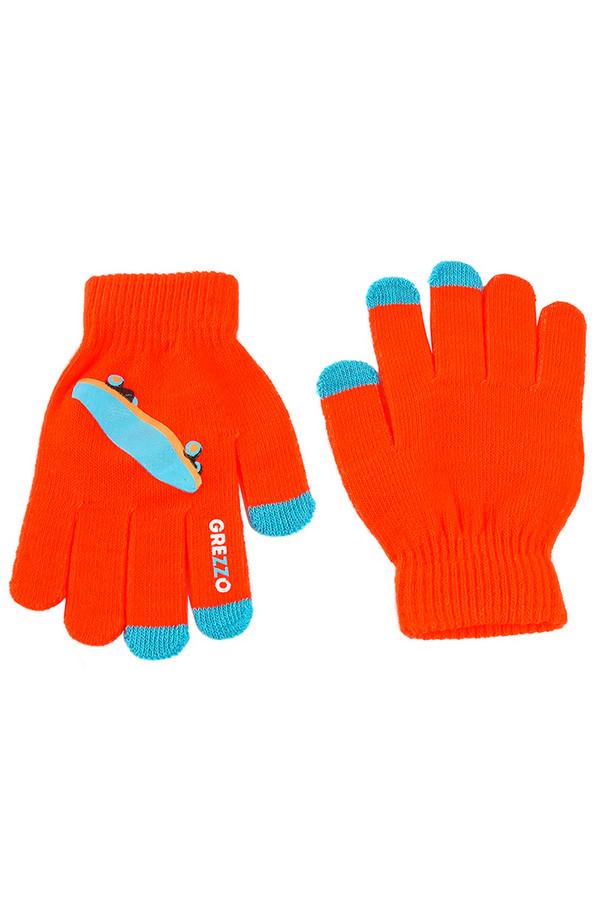 Перчатки GrezzoПерчатки<br><br><br>Размер RU: один размер<br>Пол: Женский<br>Возраст: Взрослый<br>Материал: акрил 100%<br>Цвет: Оранжевый