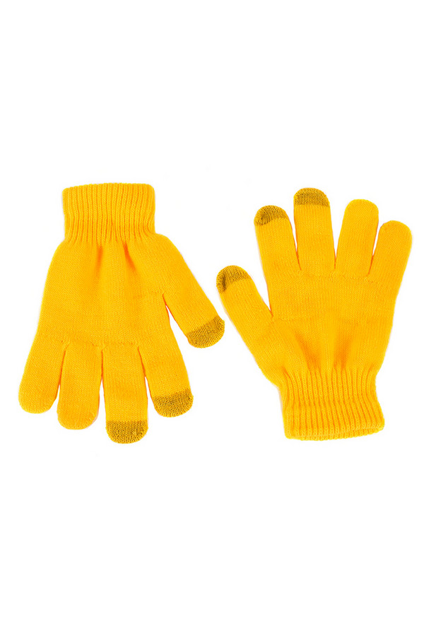 Перчатки GrezzoПерчатки<br><br><br>Размер RU: один размер<br>Пол: Женский<br>Возраст: Взрослый<br>Материал: акрил 100%<br>Цвет: Жёлтый