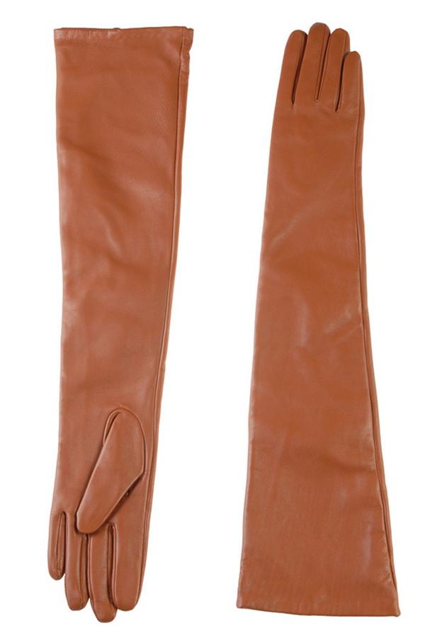 Перчатки SabellinoПерчатки<br><br><br>Размер RU: 6,5<br>Пол: Женский<br>Возраст: Взрослый<br>Материал: кожа 100%<br>Цвет: Коричневый
