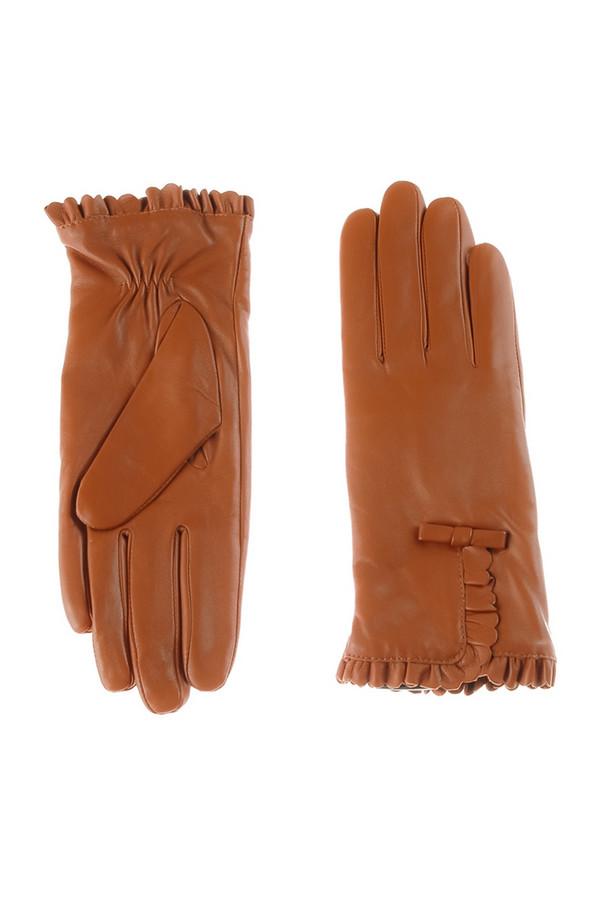 Перчатки SabellinoПерчатки<br><br><br>Размер RU: 7<br>Пол: Женский<br>Возраст: Взрослый<br>Материал: кожа 100%<br>Цвет: Коричневый