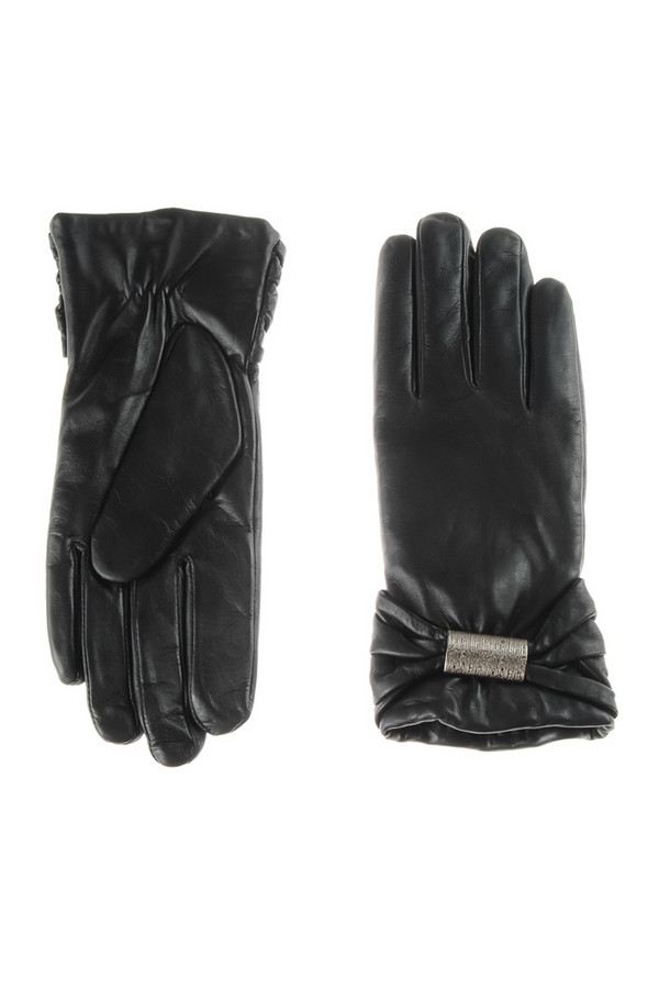 Перчатки PieroПерчатки<br><br><br>Размер RU: 7<br>Пол: Женский<br>Возраст: Взрослый<br>Материал: кожа 100%<br>Цвет: Чёрный