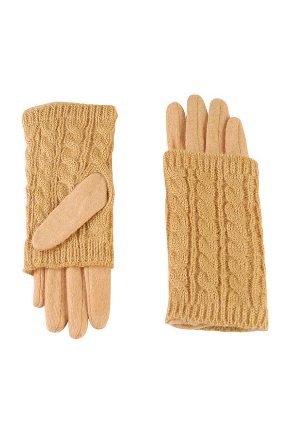 Перчатки SabellinoПерчатки<br><br><br>Размер RU: 8<br>Пол: Женский<br>Возраст: Взрослый<br>Материал: шерсть 70%, акрил 30%<br>Цвет: Жёлтый